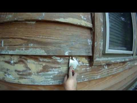 Applying Wood Putty to Wood Siding