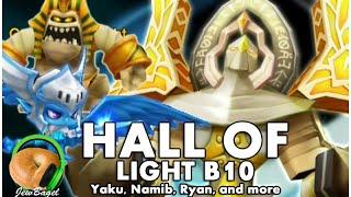 summoners war hall of light b10 farmable nat 3 monster testing yaku namib ryan more