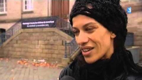 Le Creusot : hommage aux victimes  Hodda et Halima Saadi