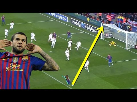 Dani Alves - Top 10 Goals with FC Barcelona
