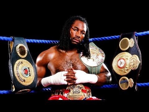 Lennox Lewis - Top 10 Knockouts (Tribute)