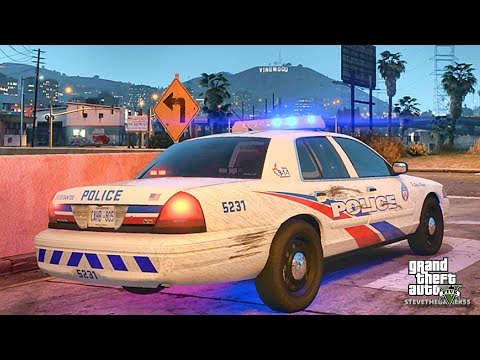 GTA 5 MODS LSPDFR 808 - BY THE BOOKS IS BACK!! (GTA 5 REAL LIFE PC MOD) TORONTO CVPI