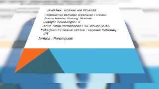Jawatan Kosong PUSPAKOM Sdn Bhd