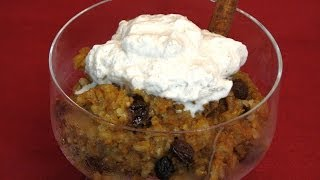Slow Cooker Pumpkin Rice Pudding -- Lynn's Recipes