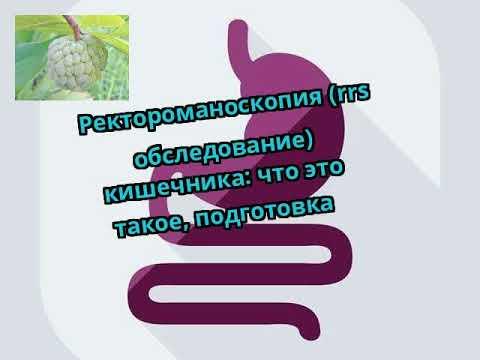 Ректороманоскопия (rrs обследование) кишечника: что это такое, подготовка