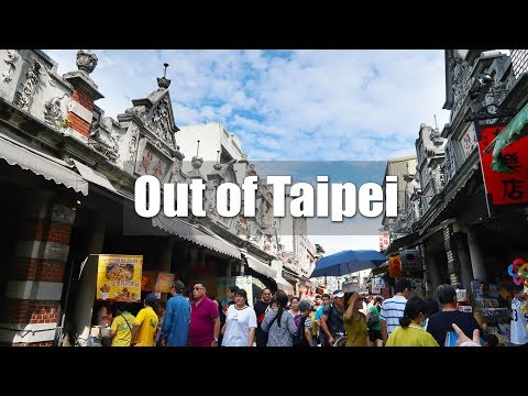 Dari Taipei | Taoyuan Daxi Old Street