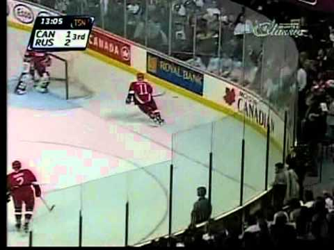 1999 World Junior Gold Medal Game Canada VS Russia AT WINNIPEG ARENA Part 6 / 10