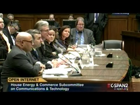 Congressional Hearing On Internet Freedom And Net Neutrality