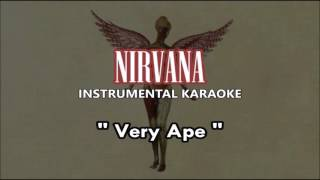Nirvana - Very Ape (instrumental karaoke cover)