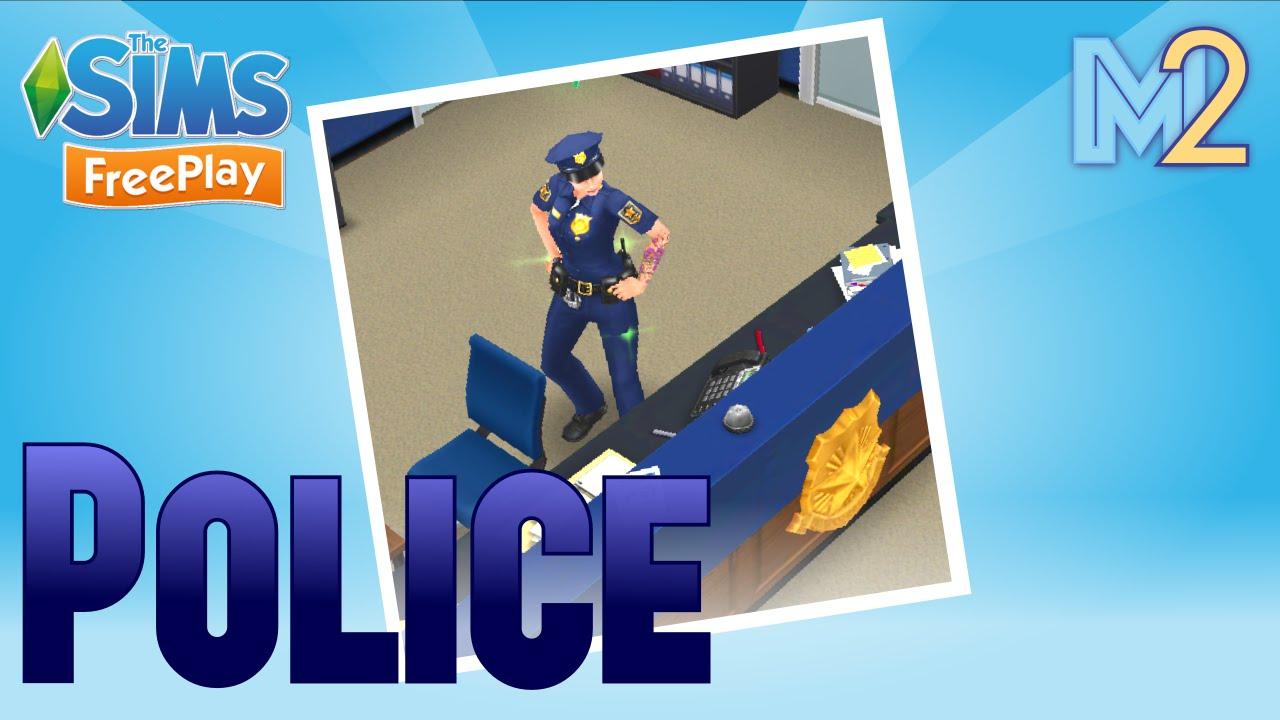 Download Sims FreePlay - Police Career Tutorial