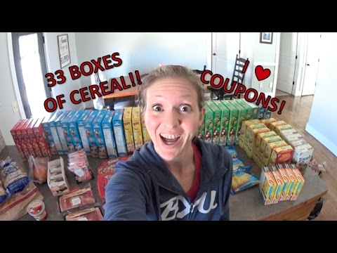 $100 April Large Family Stockpiling Haul | Coupons work!