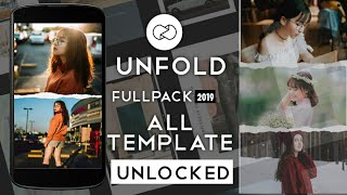 Gambar cover Unfold FULLPACK 2019 Terbaru Unlock All Template~