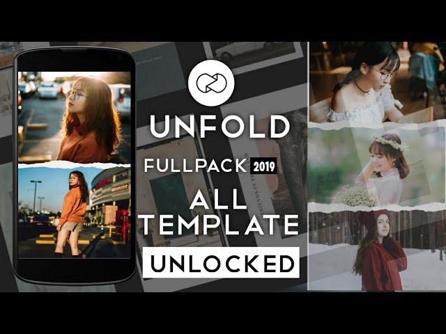 Unfold FULLPACK 2019 Terbaru Unlock All Template~