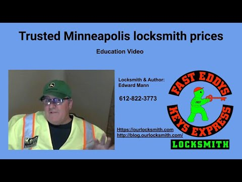 Trusted Minneapolis locksmith prices