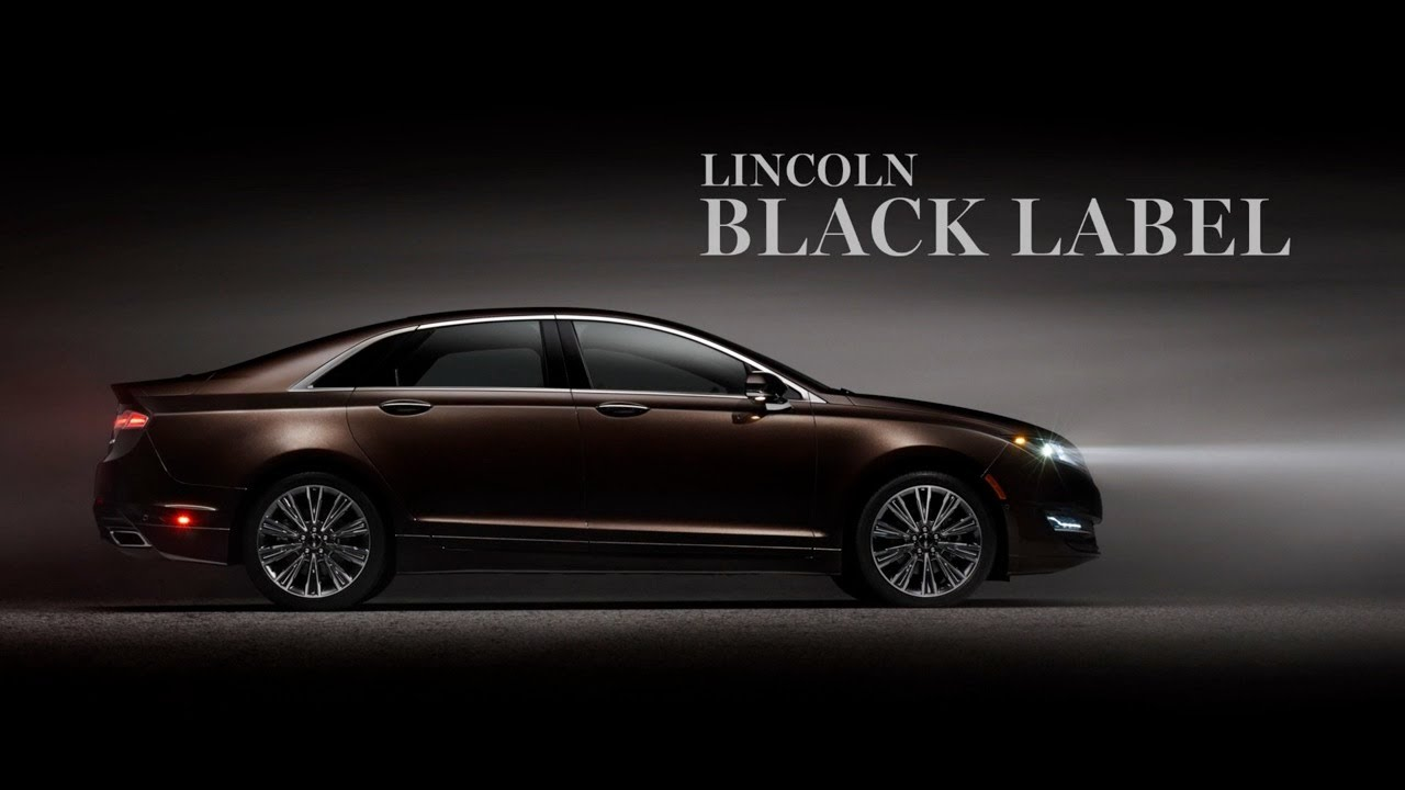 Lincoln Black Label >> Lincoln Black Label Preview - YouTube