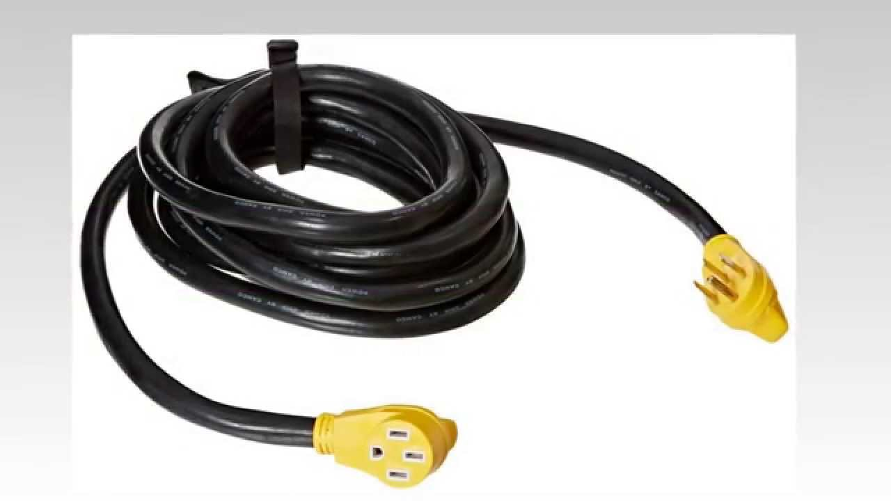Camco 55195 50 Amp 30 Extension Cord Youtube