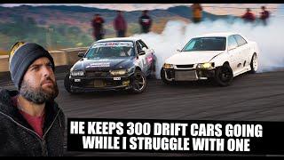 How do you maintain 300 drift cars?!
