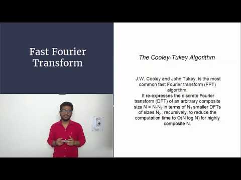 Fast Fourier Transform  A brief Algorithmic review IIT Roorkee