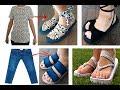 Sandalias De Ropa Vieja - Reciclar Ropa 2019 - Transform Your Old Clothes To New