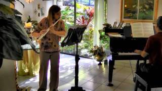 J.S. BACH Sonata in Es Dur (flute)  KIMBERLY ZIPOLI