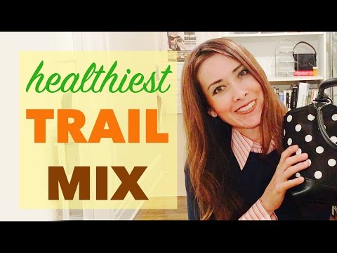 Best Trail Mix Recipe | Healthy Snacks Ideas for Travel, Office, Gym