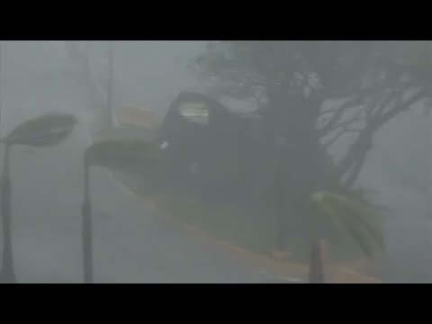 Hurricane Maria Hits Puerto Rico as Category 4