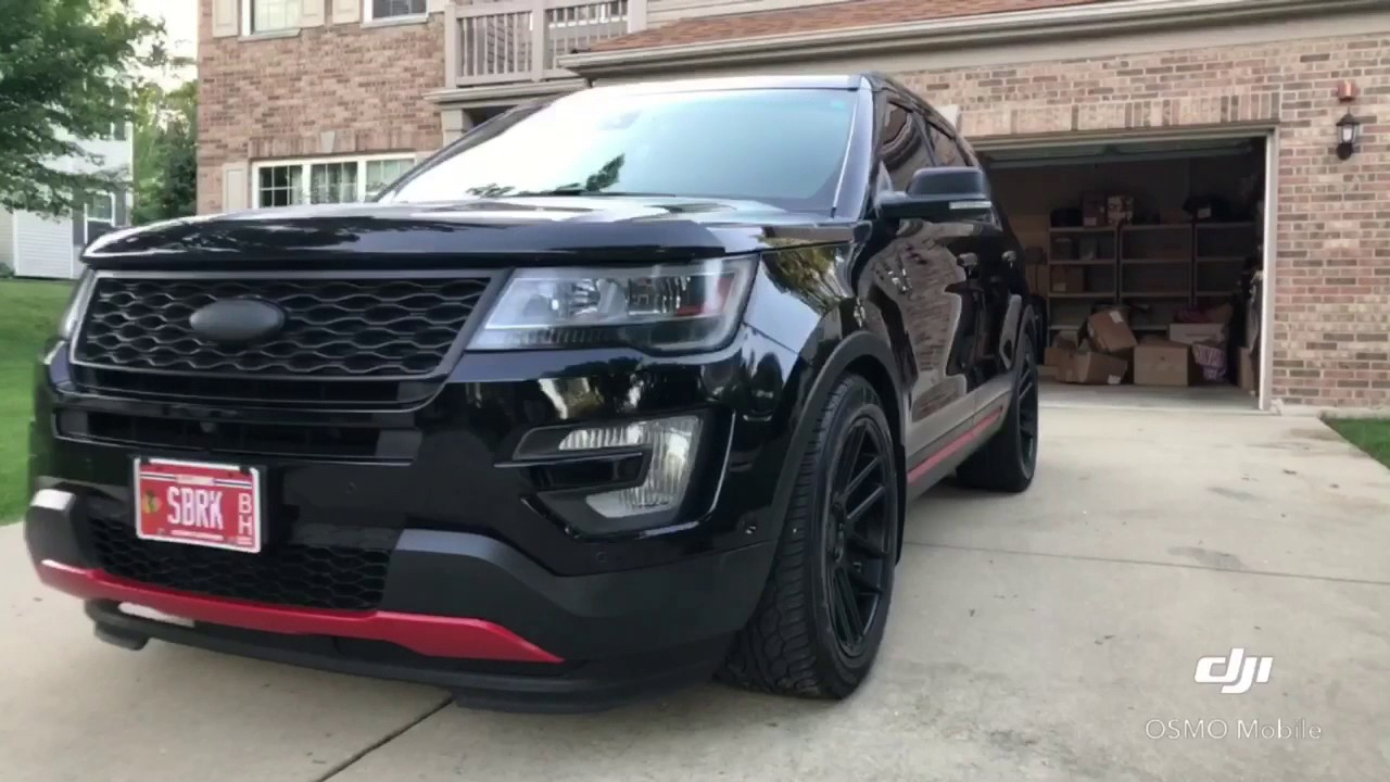 Modified 2016 Ford Explorer Platinum Edit Youtube