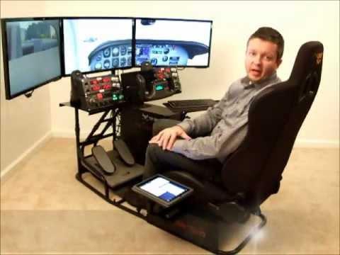 Volair Sim Flight Simulation Cockpit Chassis Product