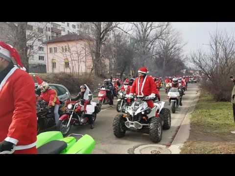 Мото дядо Коледа Плевен 2016