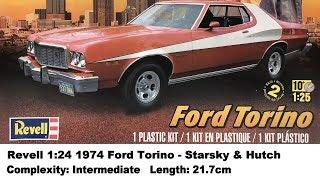 Revell 1:24 1974 Ford Torino (Starsky & Hutch) Kit Review