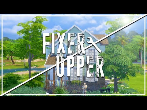 The Sims 4: Fixer Upper - Home Renovation | Moldy Mint