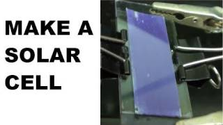 Make a Solar Cell - TiO2/Raspberry based