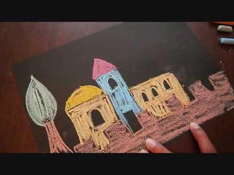 יום ירושלים - ציור ויצירה