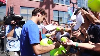 US Open 2014: Hunting for Autographs | The New York Times