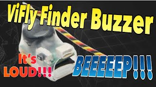 ViFly Finder Buzzer, Never lose a model again. It