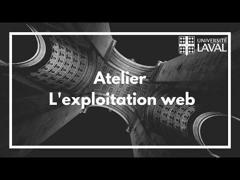 Atelier du Club de Hacking de l'Université Laval : L'exploitation web