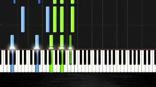 Sam Smith - I'm Not The Only One - Piano Cover/Tutorial by PlutaX - Synthesia