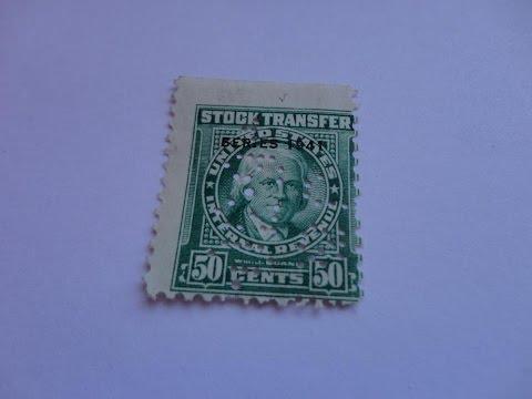 Old U.S. History Postage Stamps