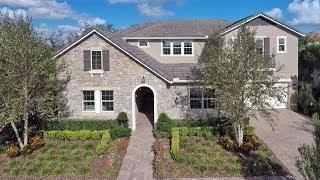 Mansfield Model w Basement  Winter Garden FL  Lennar new homes at Waterside