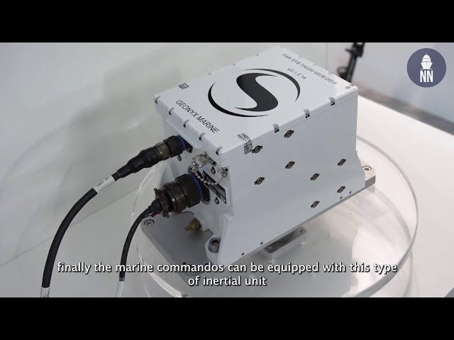 Geonyx M: New Inertial Navigation and Pointing System by Safran
