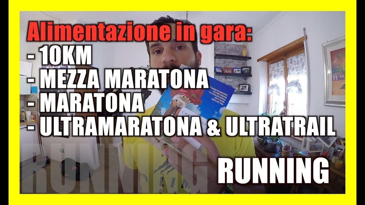 dieta maratona 10 km