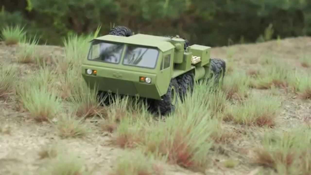 OSHKOSH HEMTT M983 110 RC  8x8 Truck  YouTube