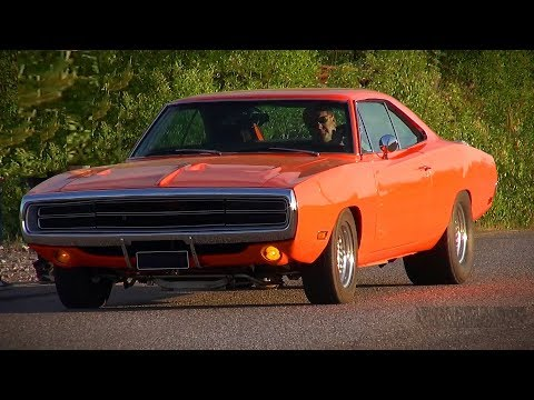 LOUD 1970 Dodge Charger 392 HEMI - Insane V8 Sound and Acceleration!!