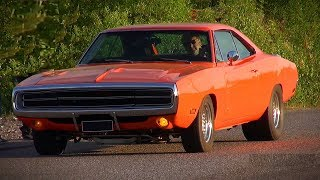 LOUD 1970 Dodge Charger 392 HEMI - Insane V8 Sound and Acceleration!!