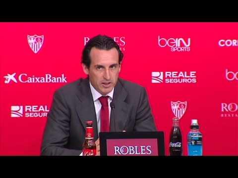 Rueda de prensa Unai Emery. Sevilla FC 5-0 Getafe CF 24/10/2015