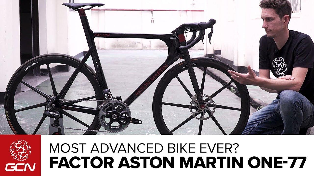 factor aston martin one-77 pro bike - youtube