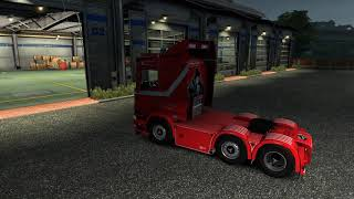 Please Subscribe For More Videos     Details & Download From https://www.modland.net/euro-truck-simulator-2/scania-r450trailer.html      HQ  TRAILER OWNABLE  WORKS ON Ver. 1.37  ANIMATED WINDOWS