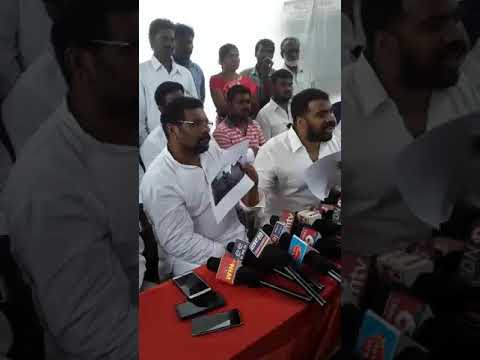 Nellore City MLA Anil Kumar Yadav Press meet today