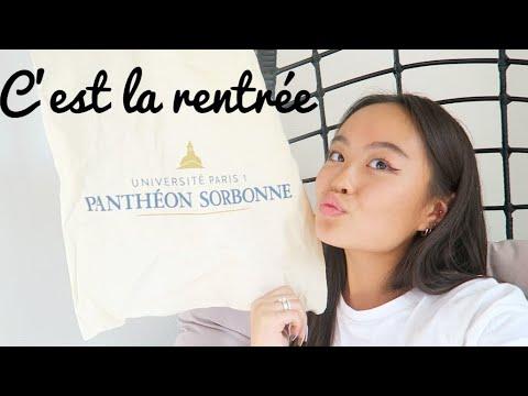 FIRST DAY A LA SORBONNE !