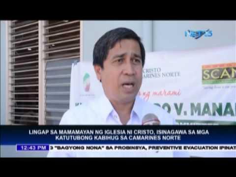 Lingap sa Mamamayan ng Iglesia Ni Cristo, isinasagawa sa Camarines Norte